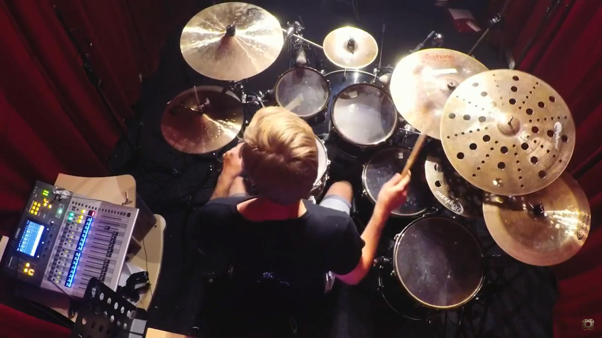 Arkentype Studio Update – Practicing #NewArkentype Drums
